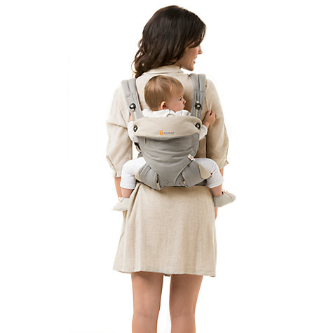 Buy Ergobaby 360 Bundle of Joy Baby Carrier With Insert, Grey Online at johnlewis.com