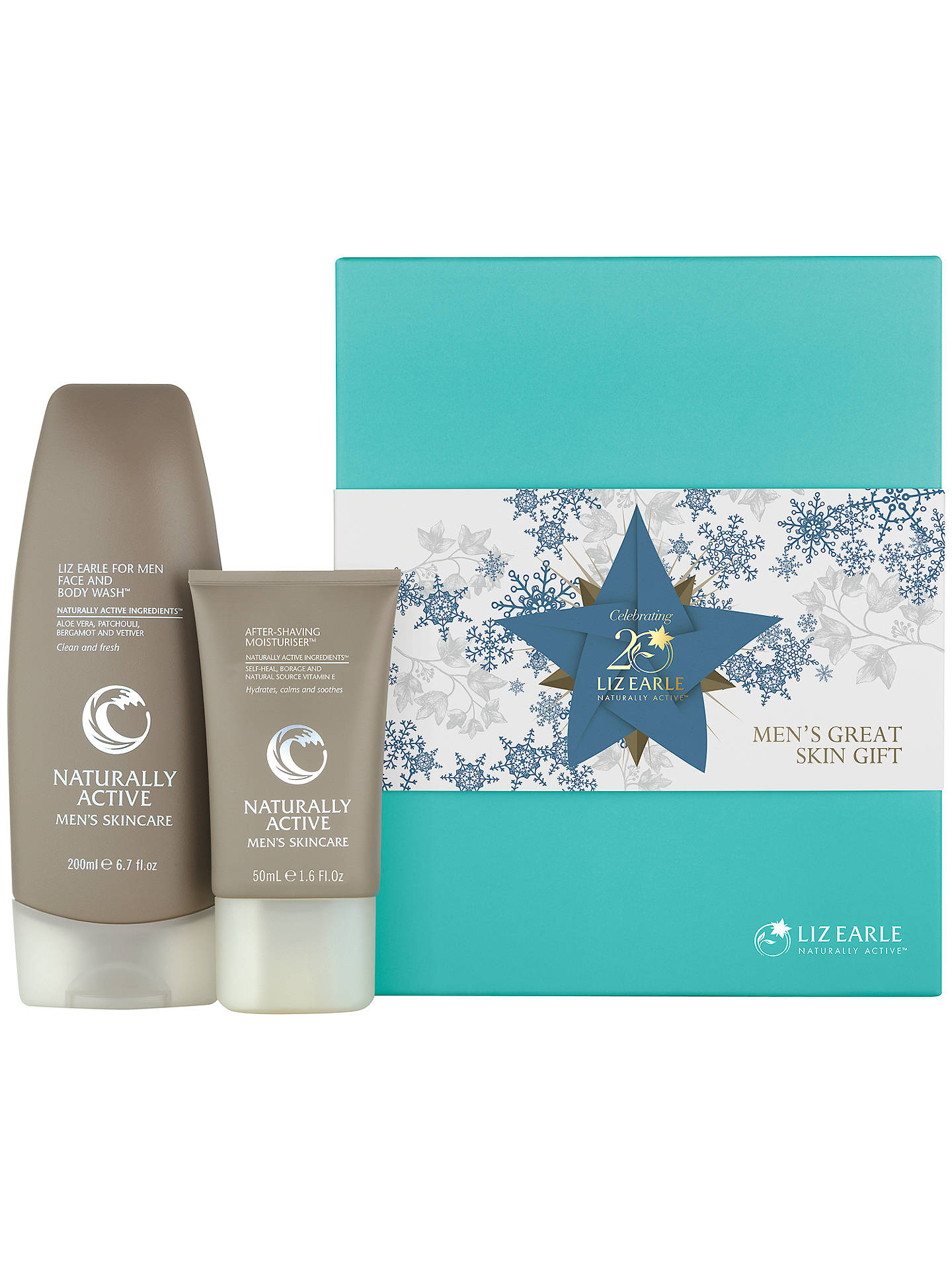 Buy Liz Earle Men's Great Skin Skincare Gift Set Online at johnlewis.com