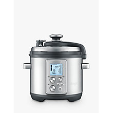 Buy Sage by Heston Blumenthal BPR700BSS The Fast Slow Pro Slow Cooker, Brushed Metal Online at johnlewis.com