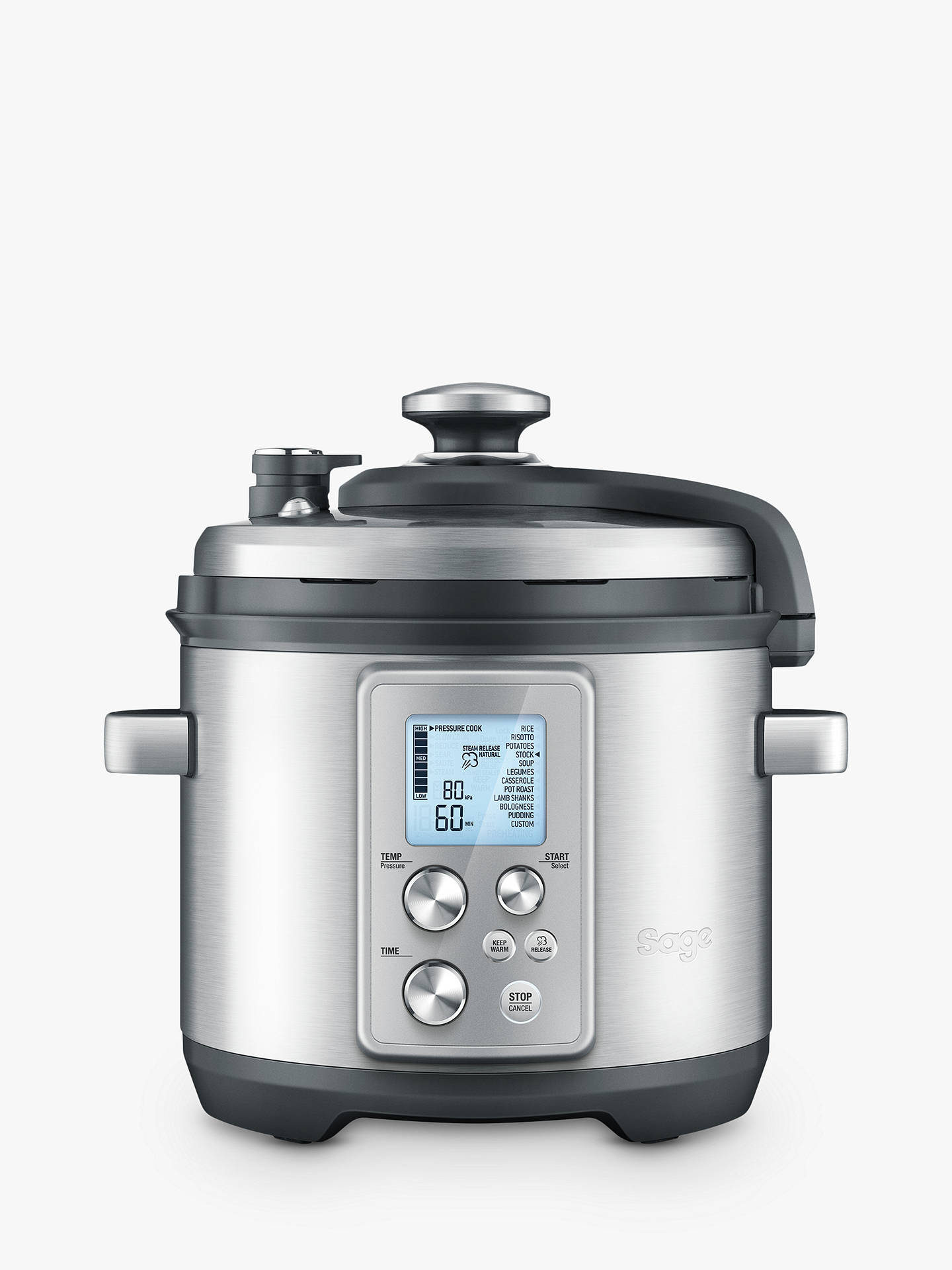 Sage Bpr700 Bss The Fast Slow Pro Slow Cooker, Brushed Metal by Sage
