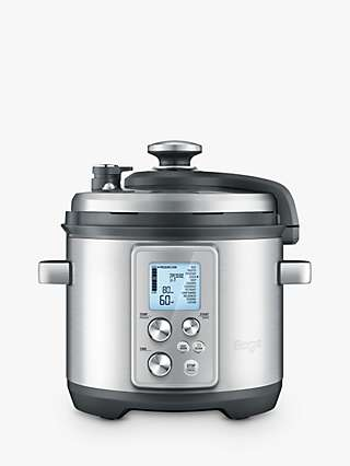 Sage BPR700BSS The Fast Slow Pro Slow Cooker, Brushed Metal