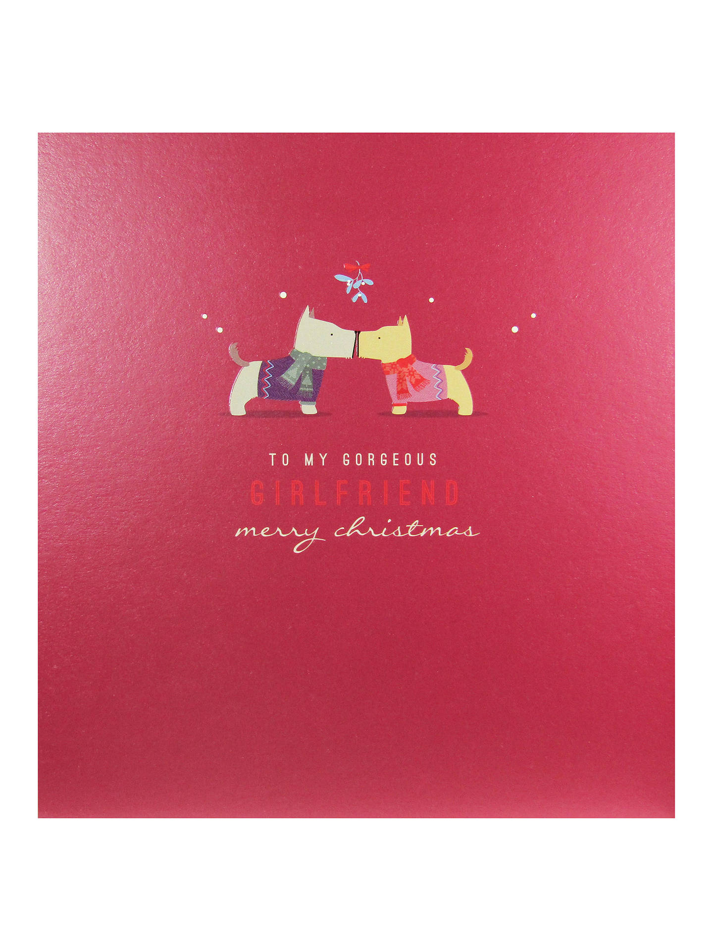 buyart file to my gorgeous girlfriend christmas card online at johnlewiscom - Christmas Card For Girlfriend