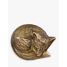 Buy John Lewis Brass Fox Cupboard Knob Online at johnlewis.com