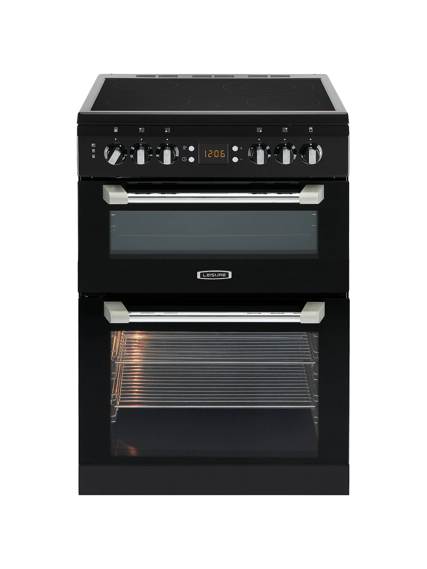 leisure cs60 cuisinemaster freestanding electric cooker at. Black Bedroom Furniture Sets. Home Design Ideas