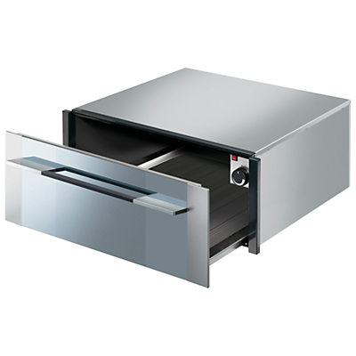 Smeg CT1029 Linea Integrated Warming Drawer, Stainless Steel