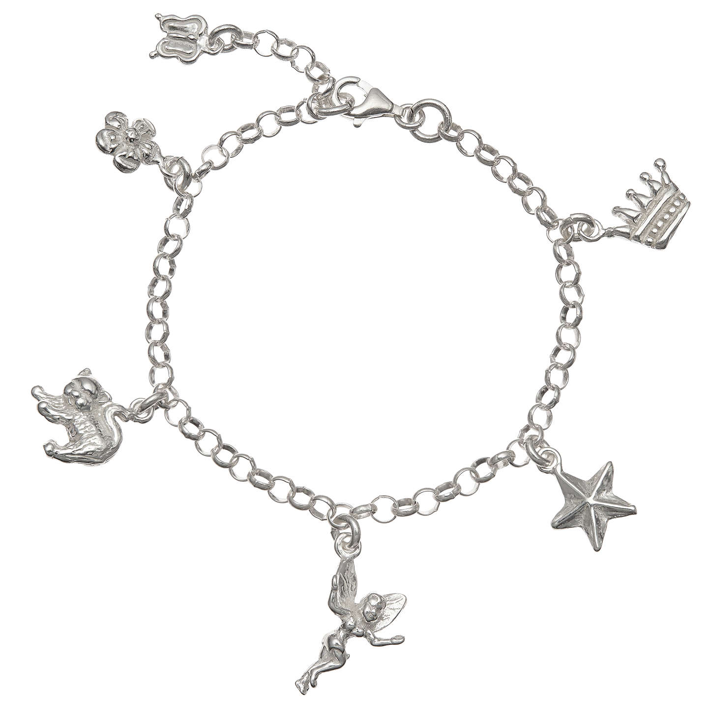 goodwins childs amp for bracelet kids silver image diamond from d leather