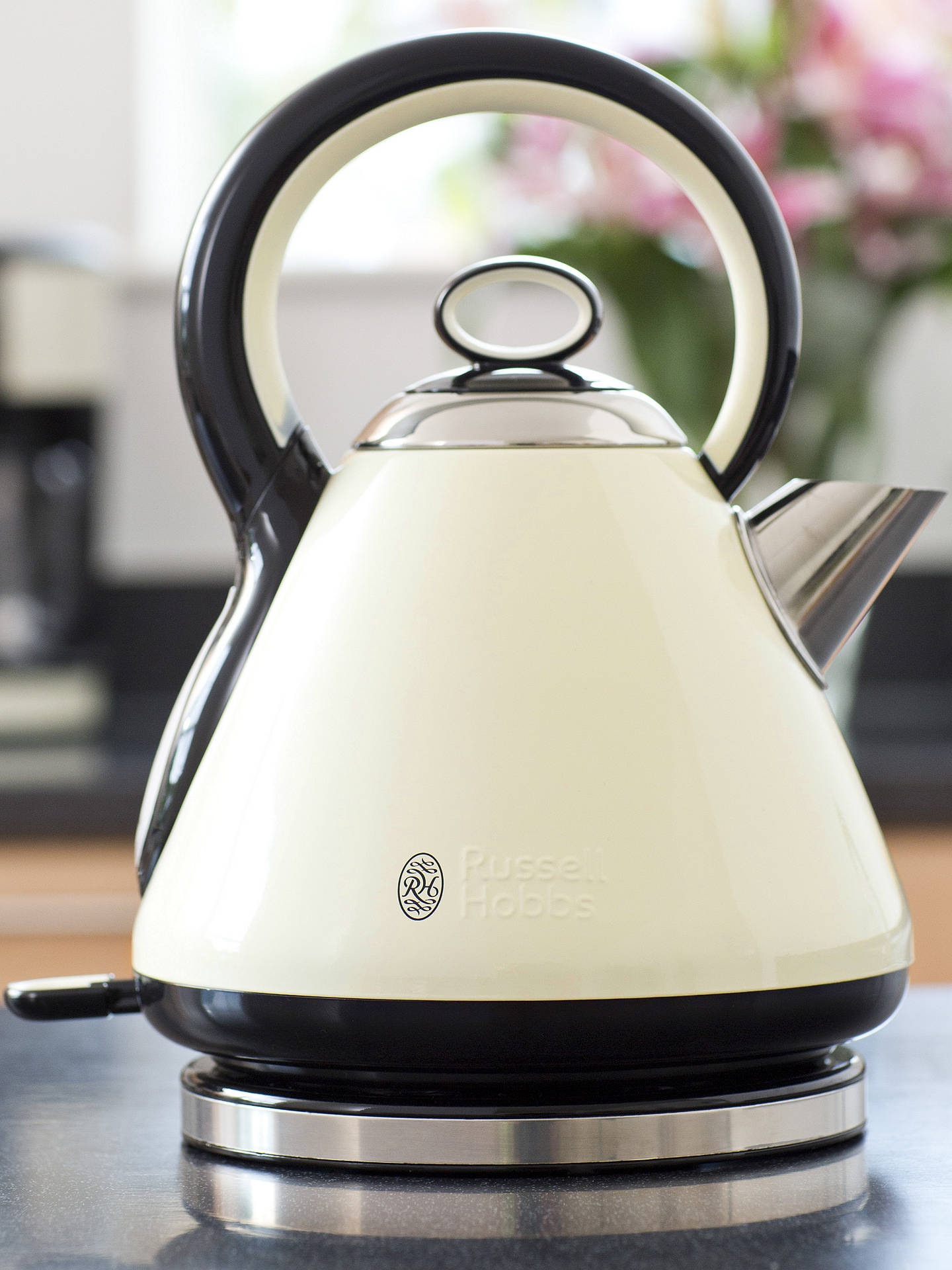 Russell Hobbs Legacy Electric Kettle, Cream at John Lewis