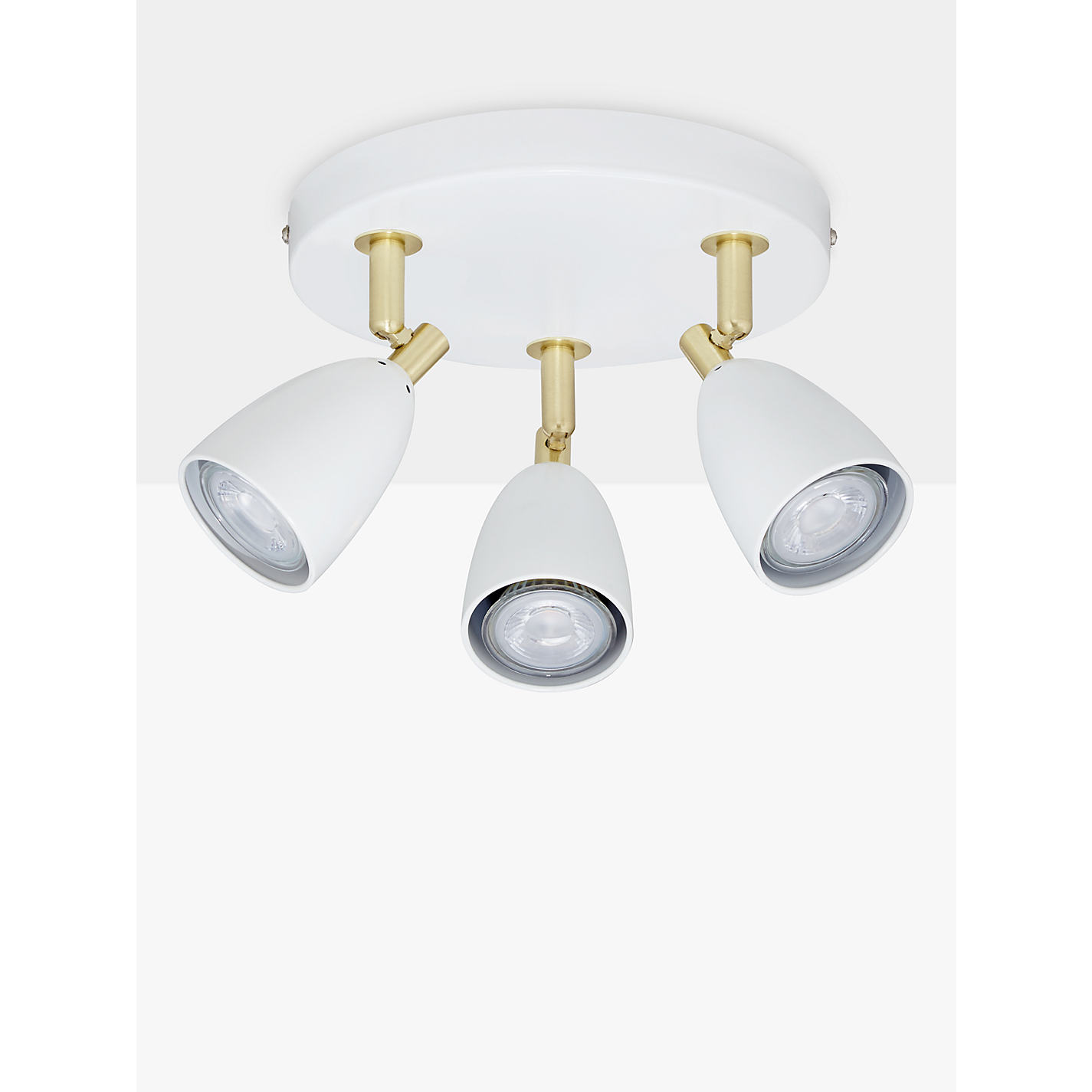 Buy john lewis sasha gu10 led spotlight plate 3 light ivory buy john lewis sasha gu10 led spotlight plate 3 light ivorybrass online aloadofball Image collections