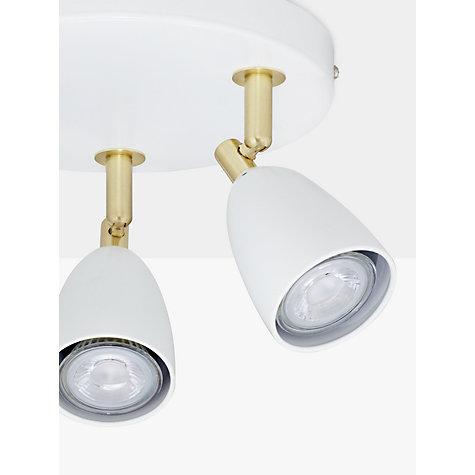 John lewis track lighting cheap shop for ceiling lighting from our buy john lewis sasha gu led spotlight plate light ivorybrass online with john lewis track lighting aloadofball Images