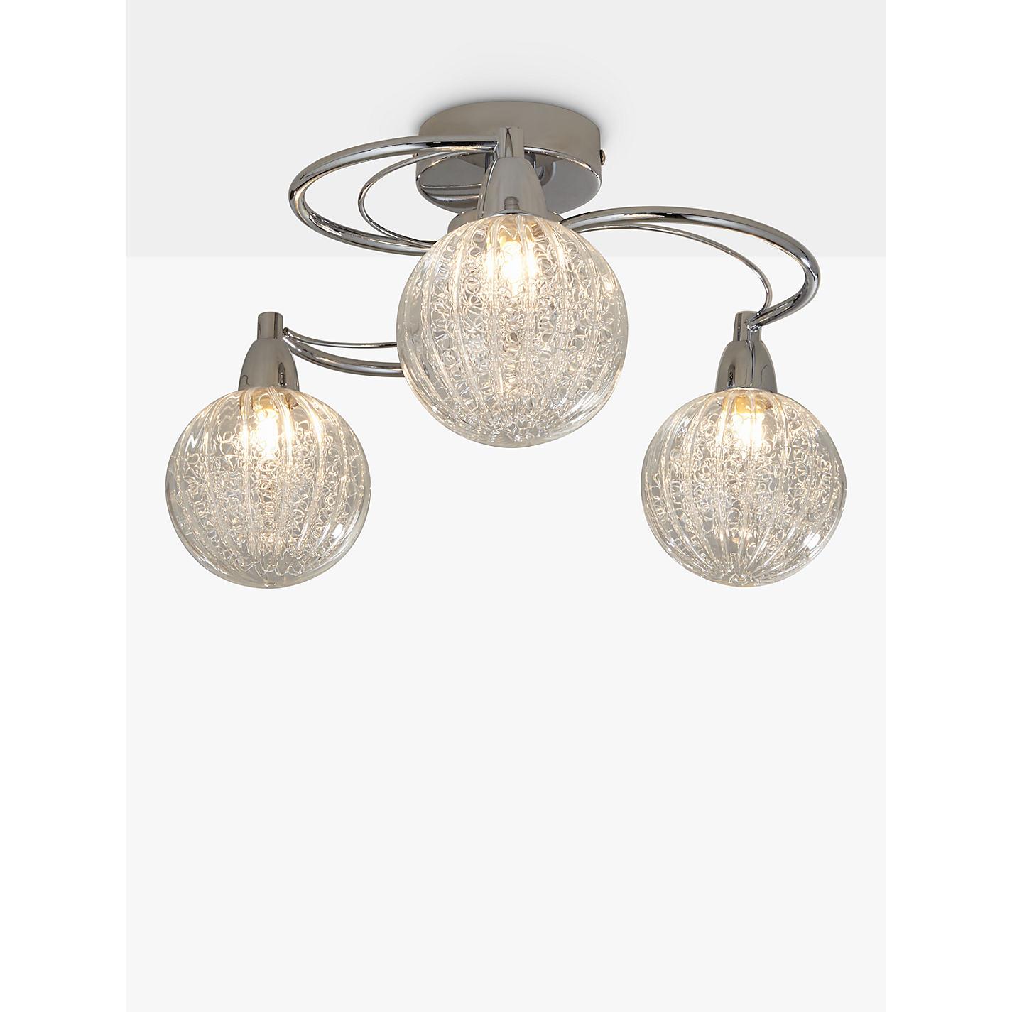 Bathroom Ceiling Lights John Lewis buy john lewis robertson ceiling light, 3 arm | john lewis