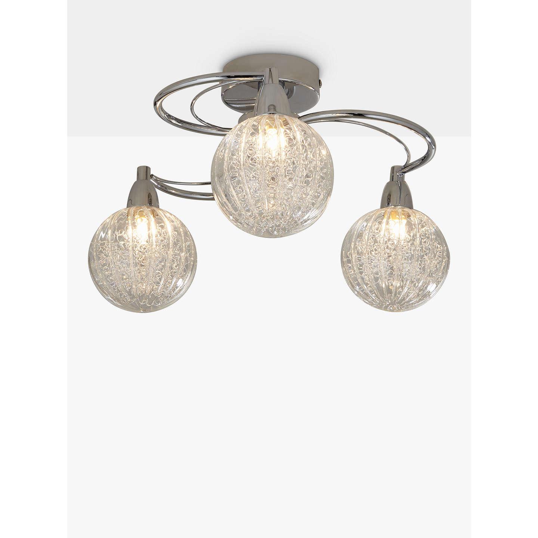 deatil flush dar mount light pluto products ceiling chrome crystal polished large