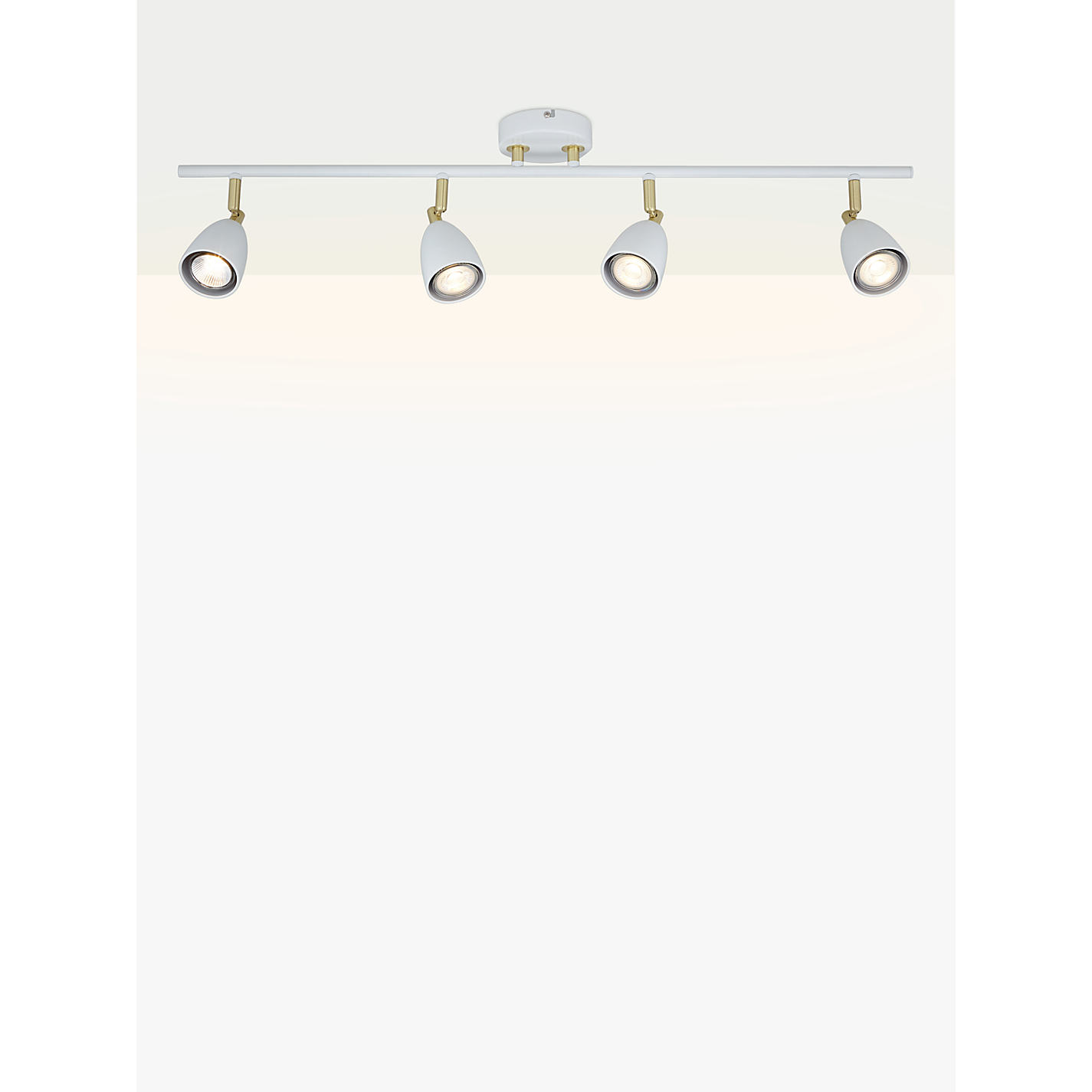 Buy john lewis sasha gu10 led spotlight bar 4 light ivorybrass buy john lewis sasha gu10 led spotlight bar 4 light ivorybrass online mozeypictures Images