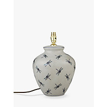 Buy India Jane Dragonfly Ceramic Lamp Base, Blue Online at johnlewis.com
