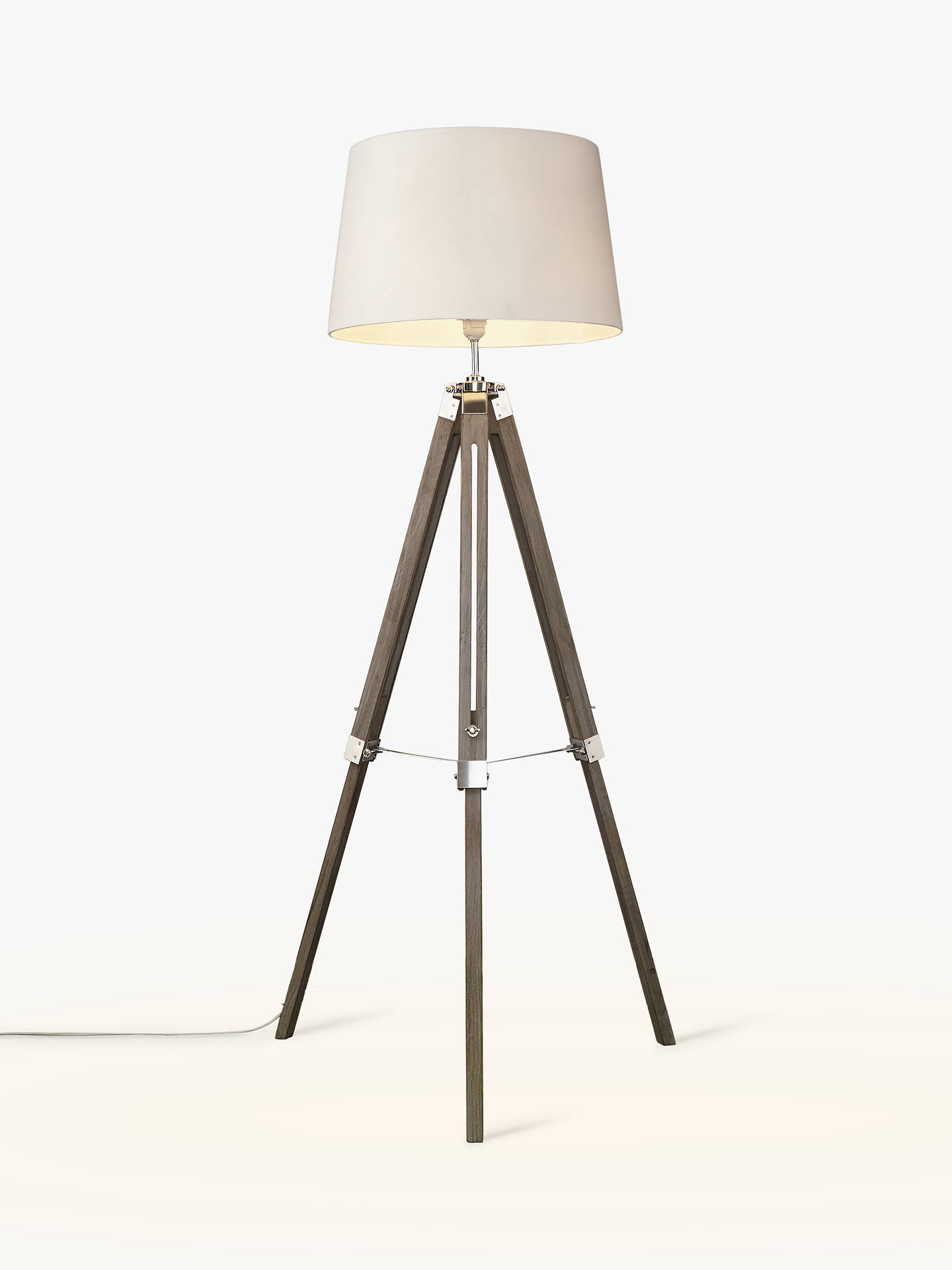 John Lewis Amp Partners Jacques Tripod Floor Lamp At John Lewis Amp Partners