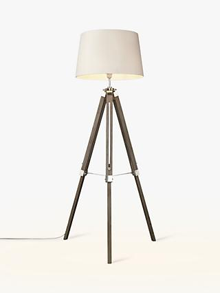 John Lewis & Partners Jacques Tripod Floor Lamp