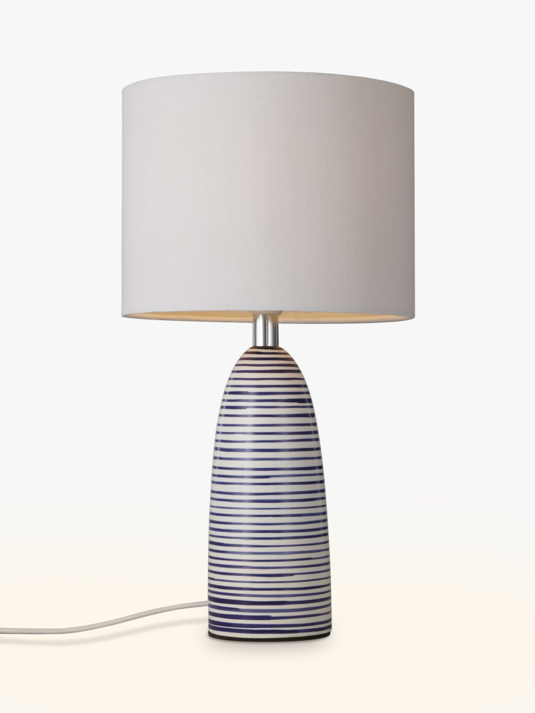 White bedroom lamps buy john lewis lolly table lamp john lewis geotapseo Image collections