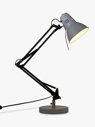 Buy John Lewis & Partners Elliot Task Lamp, Graphite Online at johnlewis.com