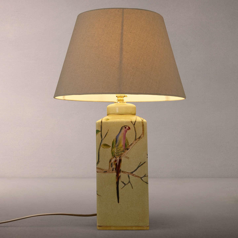 Marvelous ... BuyIndia Jane Parrot Ceramic Lamp Base, Green Online At Johnlewis.com  ...