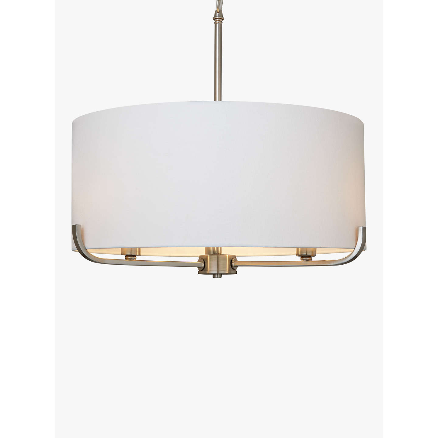 John lewis jamieson pendant satin nickel at john lewis buyjohn lewis jamieson pendant satin nickel online at johnlewis mozeypictures Image collections