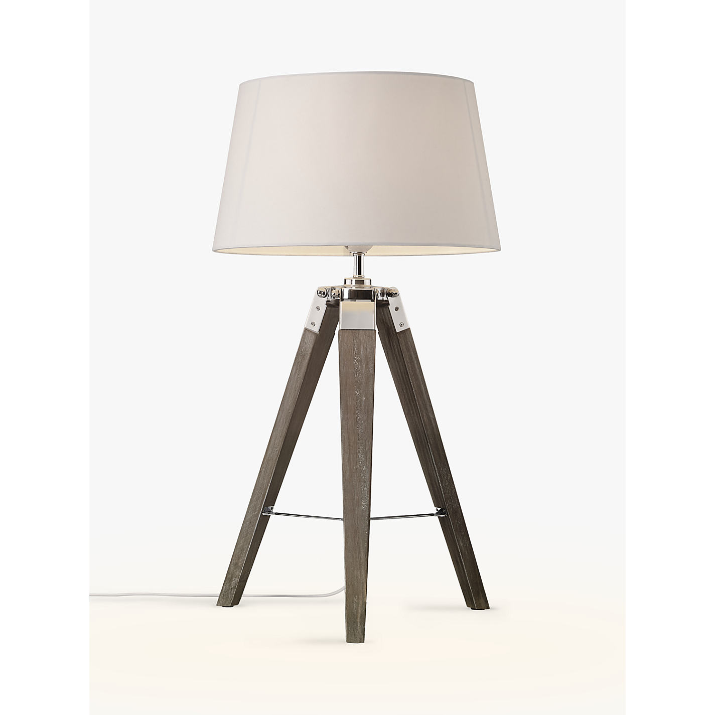 Buy john lewis jacques tripod table lamp john lewis buy john lewis jacques tripod table lamp online at johnlewis geotapseo Image collections