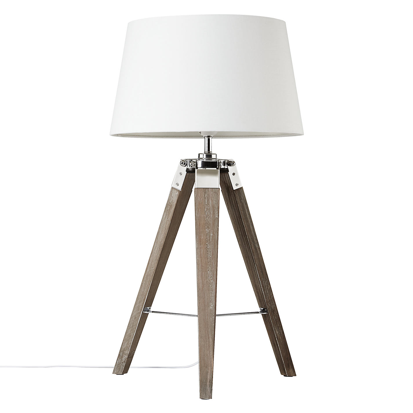 Buy john lewis jacques tripod table lamp john lewis buy john lewis jacques tripod table lamp online at johnlewis mozeypictures Image collections