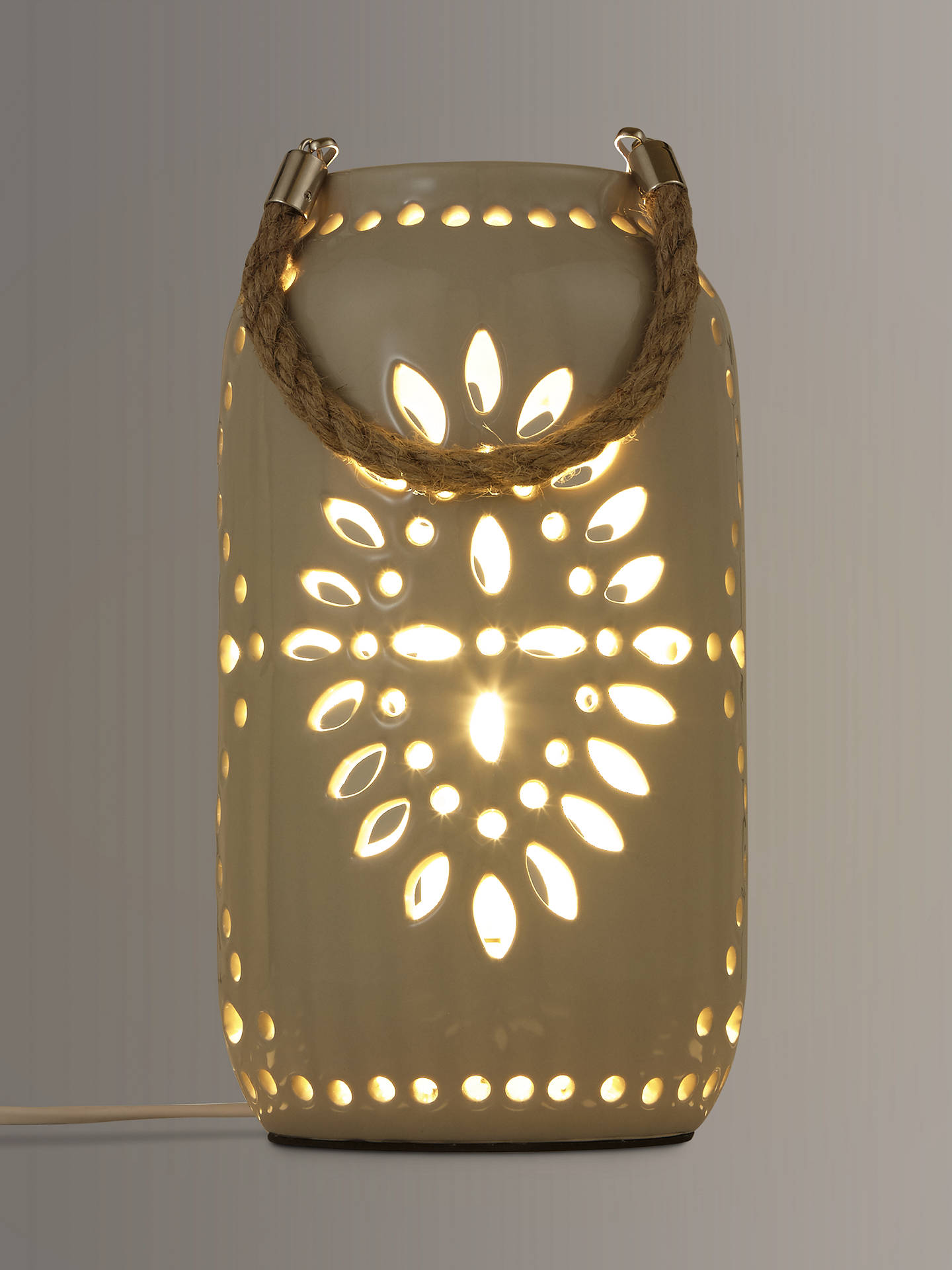 John Lewis Partners Leon Ceramic Lantern At John Lewis Partners
