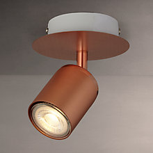 Buy John Lewis Mode GU10 LED Spotlight, Copper Online at johnlewis.com