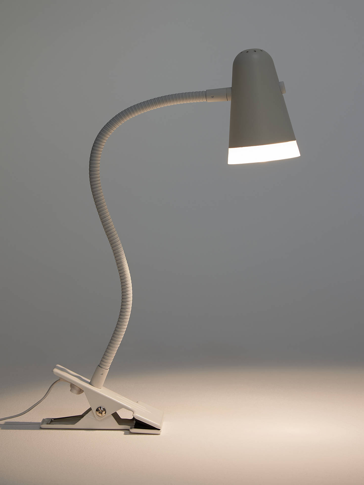 House By John Lewis Lorrie Led Clip With Switch Desk Lamp At John Lewis Partners