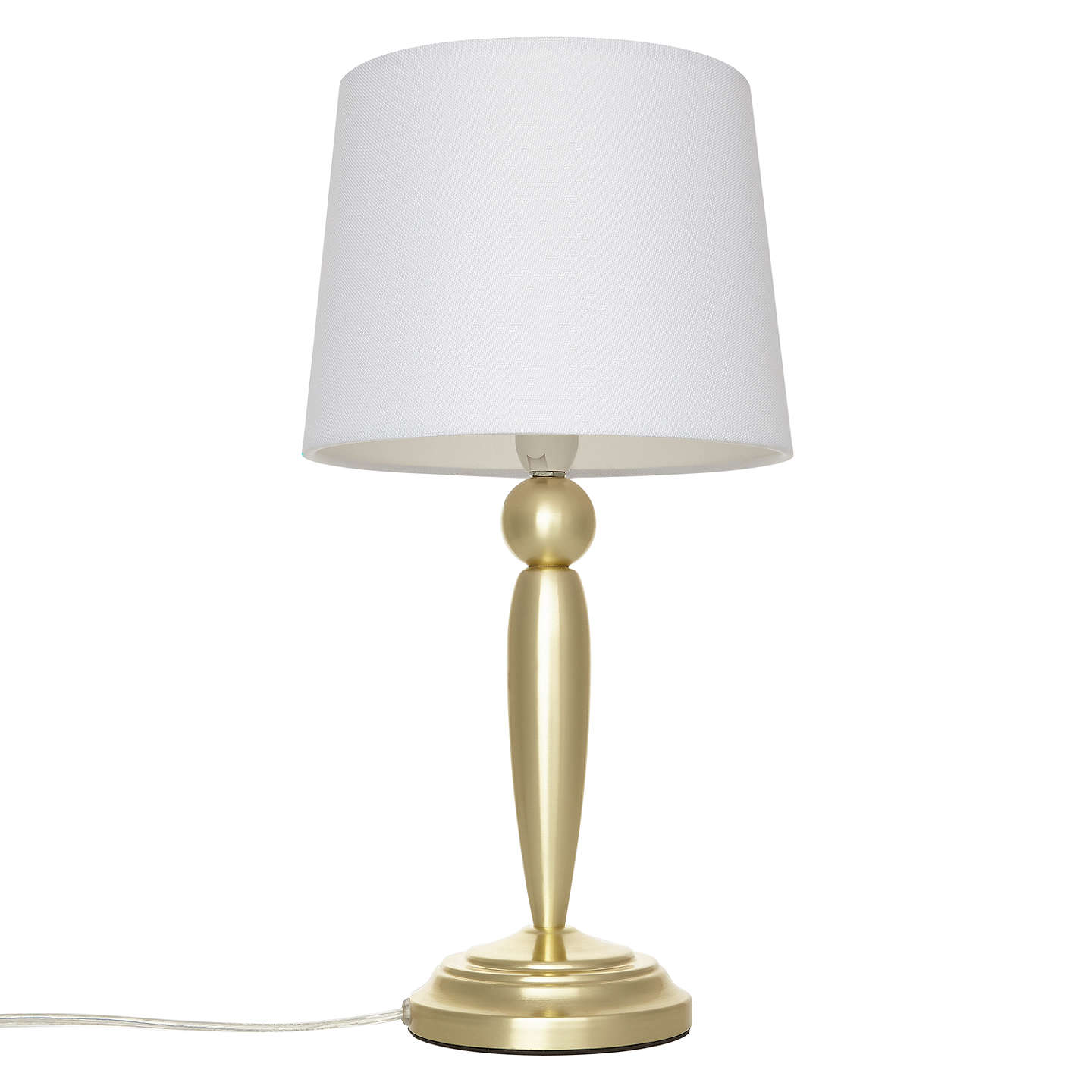 ... BuyJohn Lewis Andreya Touch Table Lamp, Antique Brass Online At  Johnlewis.com ...