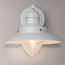 Buy John Lewis Barrington Wall Light, White Online at johnlewis.com