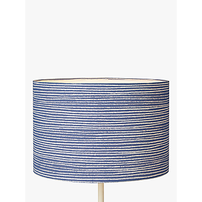 Product photo of John lewis coastal cleystripe lampshade