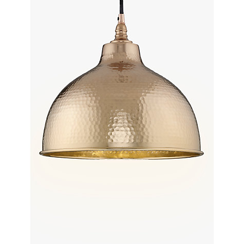 Buy John Lewis Bolu Pendant Shade Copper Online At Johnlewis
