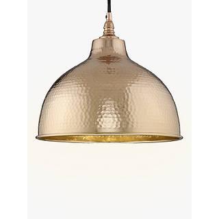 pendant ceiling lighting. John Lewis Bolu Pendant Shade, Copper Ceiling Lighting