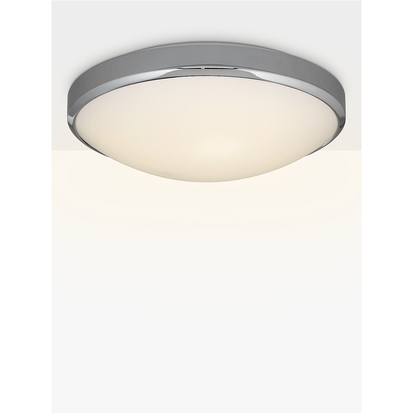 Bathroom Light Fixtures John Lewis buy astro osaka led bathroom light, white/chrome | john lewis