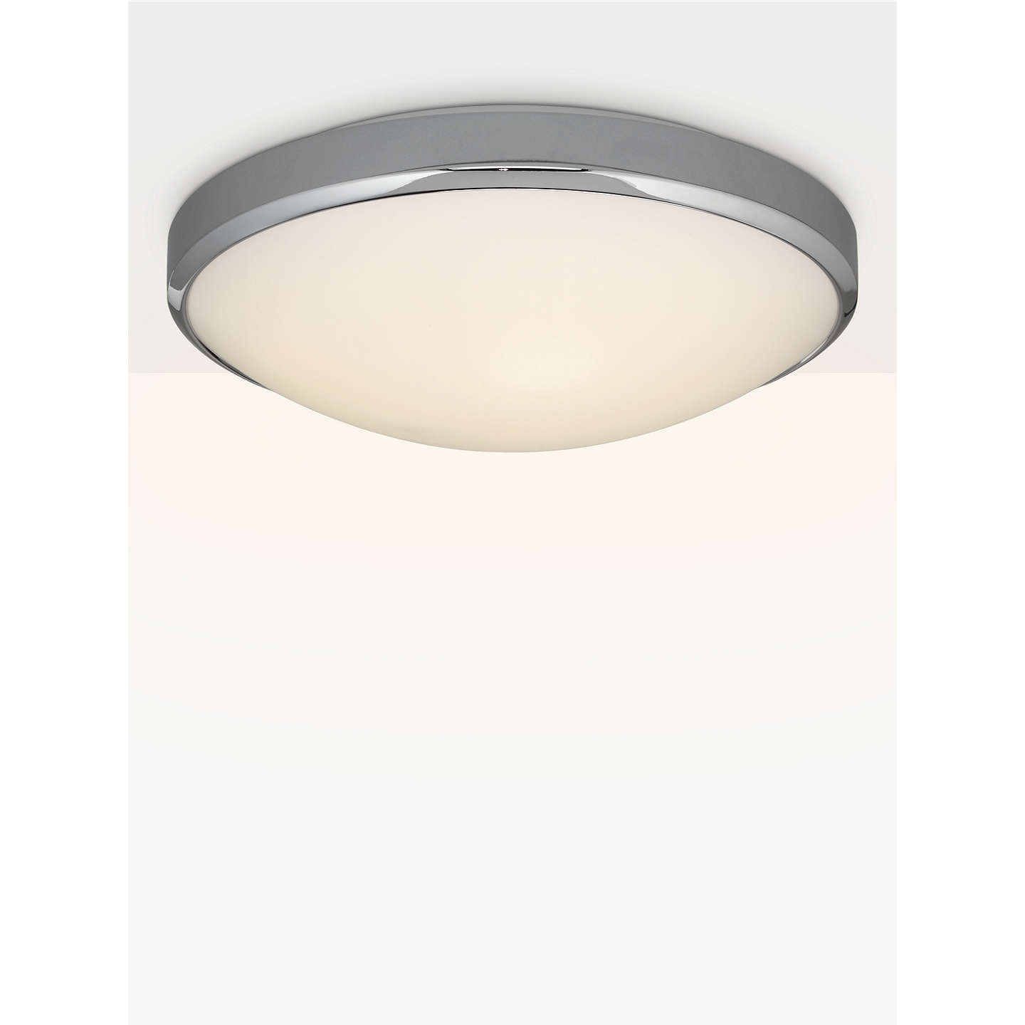 Astro osaka led bathroom light whitechrome at john lewis buyastro osaka led bathroom light whitechrome online at johnlewis aloadofball Image collections