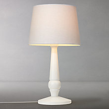 Buy John Lewis Croft Carrow Table Lamp, White Online at johnlewis.com