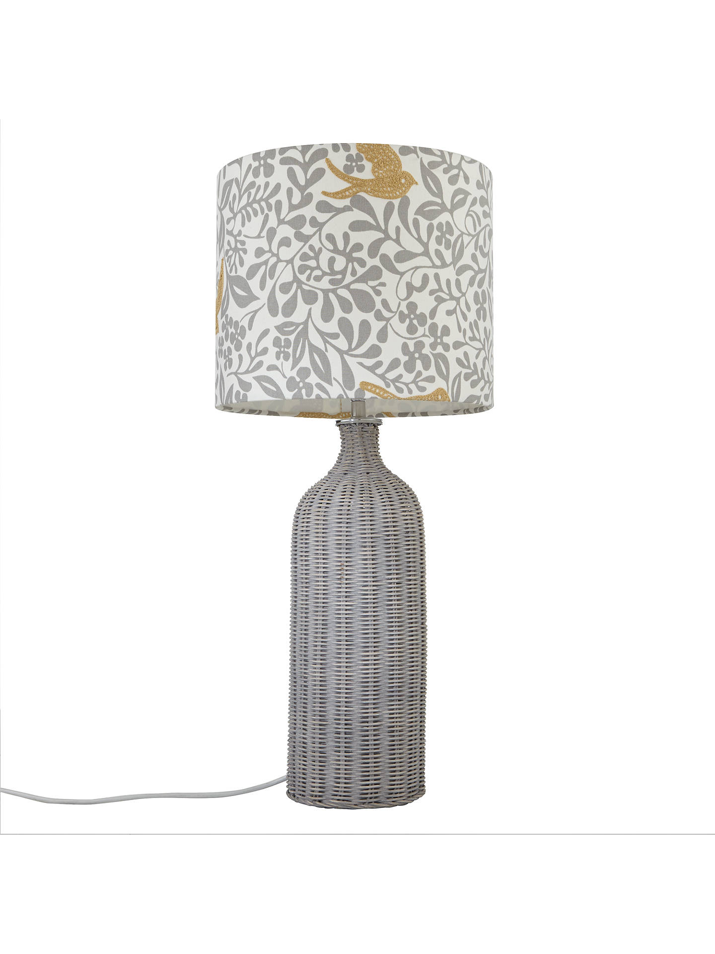 BuyJohn Lewis Croft Barnaby Lamp Base, Grey Online at johnlewis.com