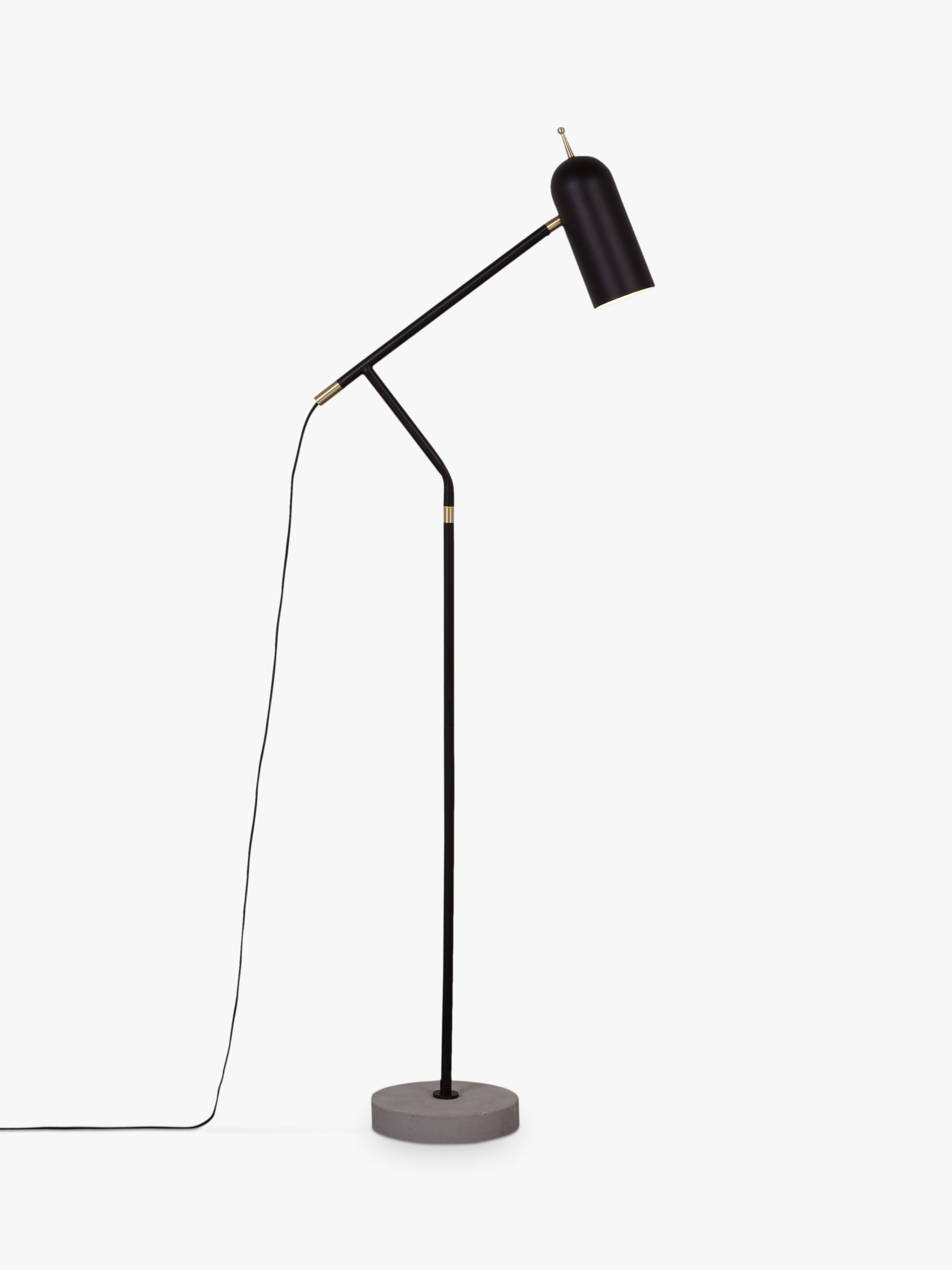 Design Project by John Lewis Design Project by John Lewis No.045 LED Floor Lamp, Black