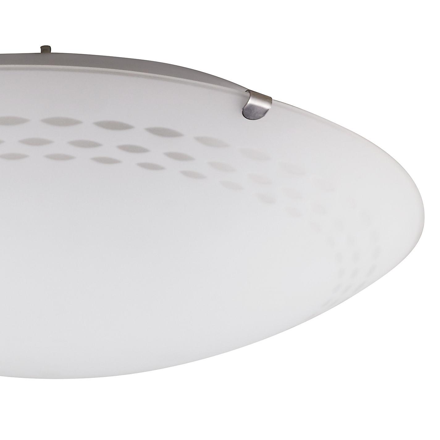 buy john lewis dash flush ceiling light white online at