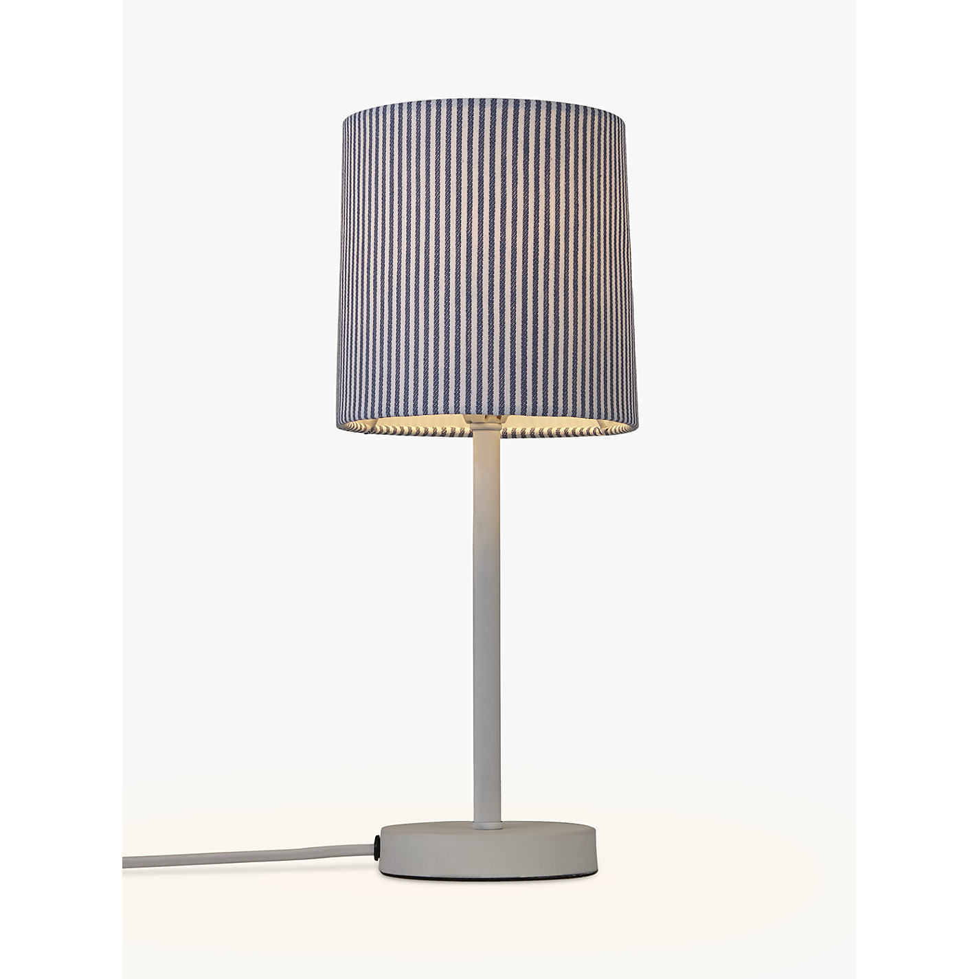 Buy john lewis eastbourne stick table lamp white john lewis buy john lewis eastbourne stick table lamp white online at johnlewis geotapseo Images