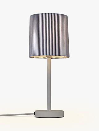 John Lewis & Partners Eastbourne Stick Table Lamp, White