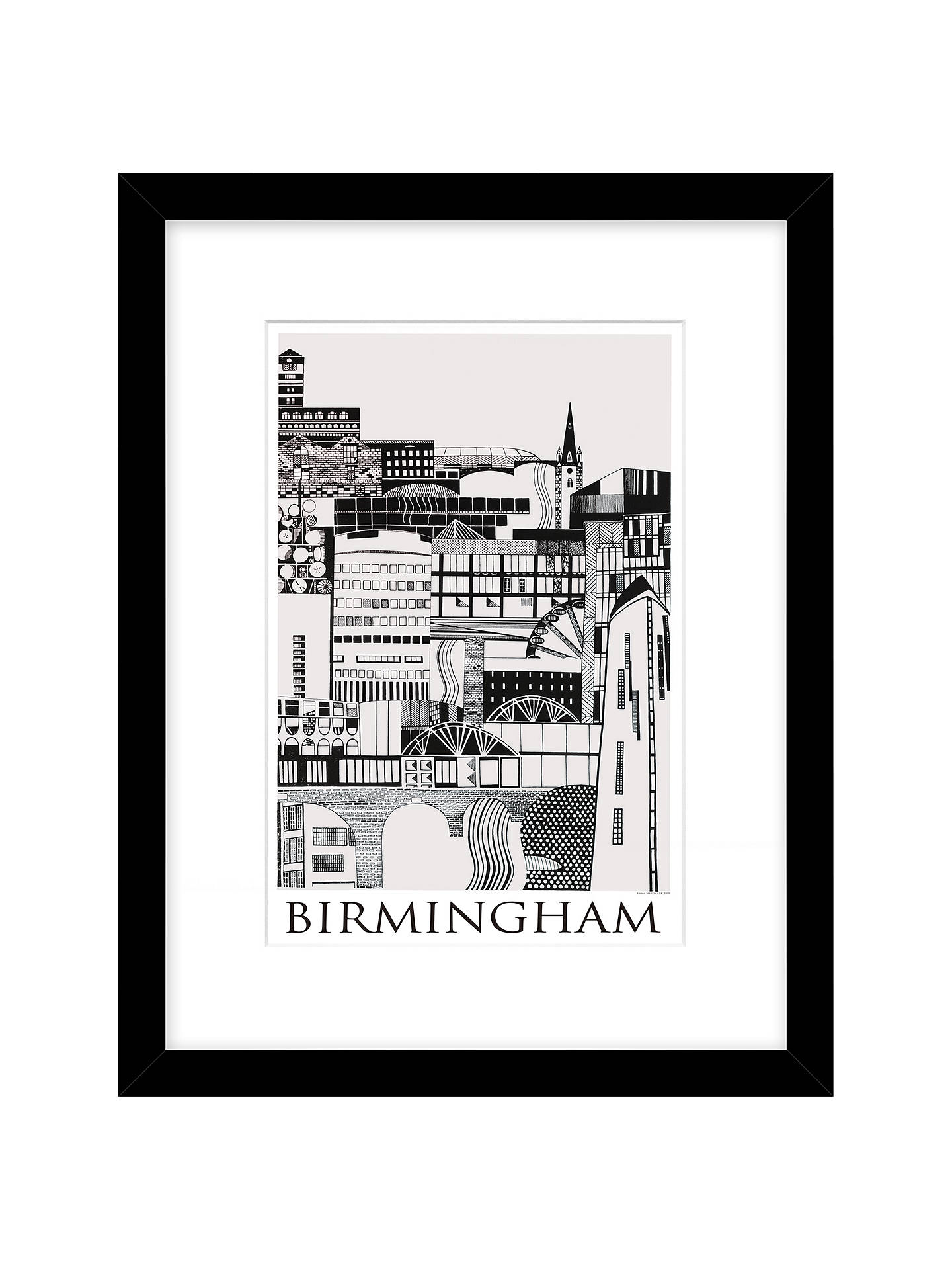 Emma Hardicker Birmingham Framed Print 43 x 33cm at John Lewis