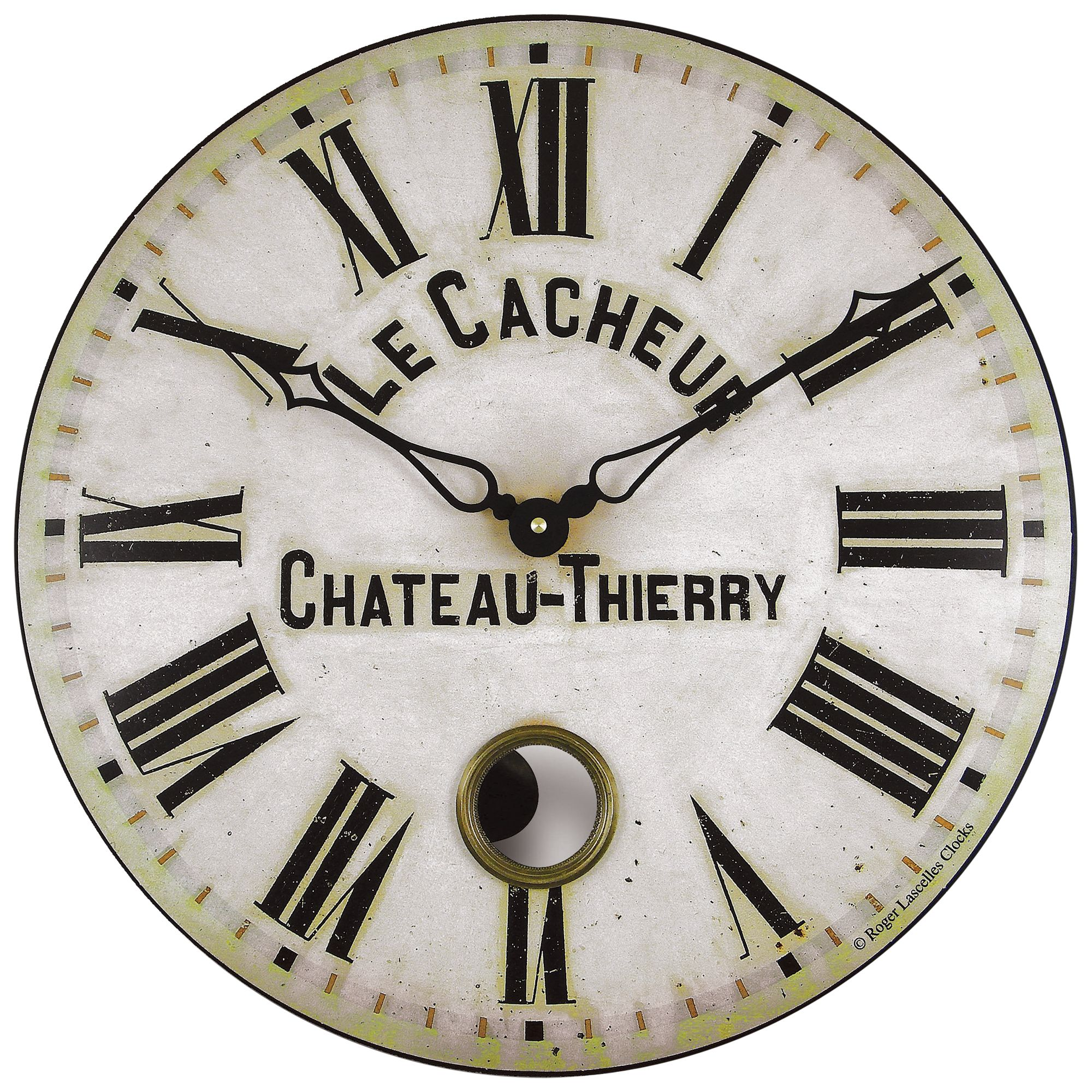 Roger lascelles antique french wall clock with bluewater 5000 amipublicfo Gallery