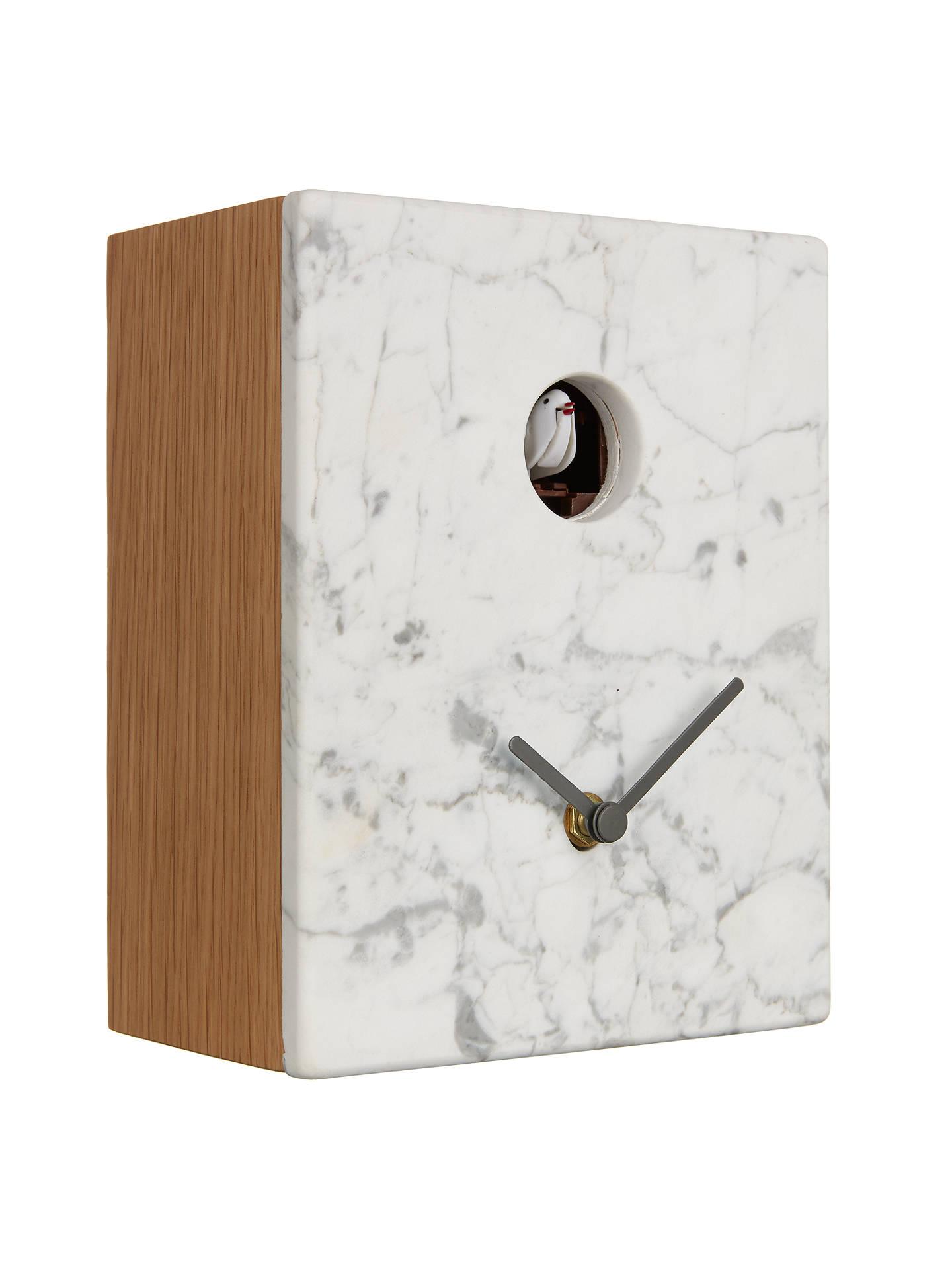 Diamantini Domeniconi Portobello Marble Cuckoo Clock 21 X 16cm Online At Johnlewis