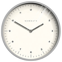 Buy Newgate Mr Turner Wall Clock, Dia. 45cm Online at johnlewis.com