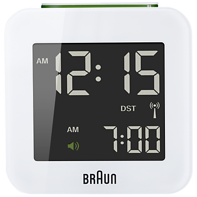 Braun Radio Controlled Travel Global Alarm Clock