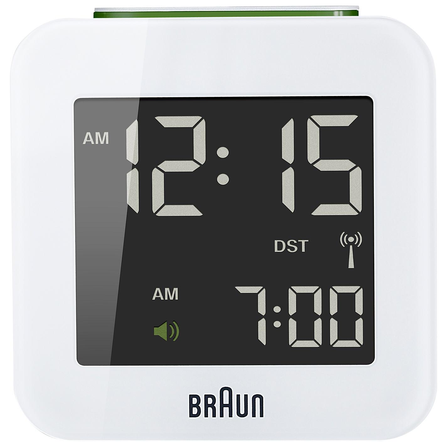 Buy braun radio controlled travel global alarm clock john lewis buy braun radio controlled travel global alarm clock online at johnlewis amipublicfo Choice Image