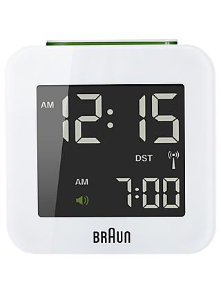 Braun Radio Controlled Travel Global Alarm Clock