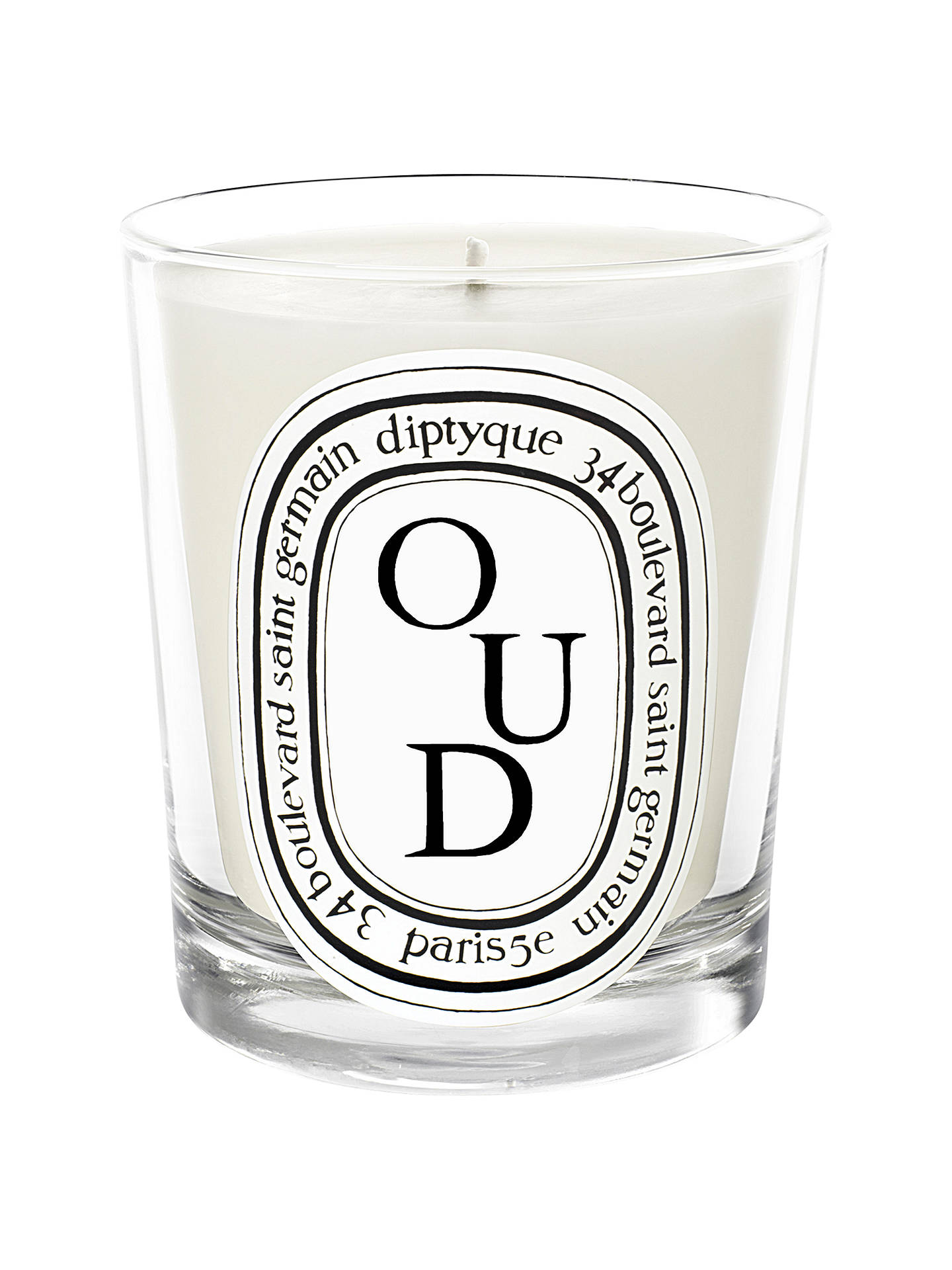 Diptyque Oud Scented Candle, 190g by Diptyque