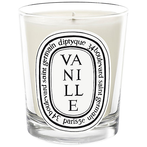 Buy Diptyque Vanille Scented Candle, 70g Online at johnlewis.com